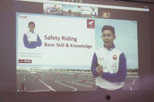 Webinar Honda Safety Riding For Goverment Sasar Dinas Koperasi UKM NTB
