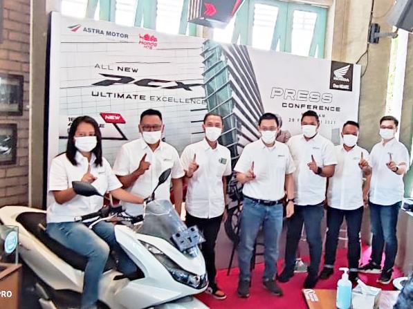 Launching All New Honda PCX 160 Motor Skutik Elegant Dan Bertenaga