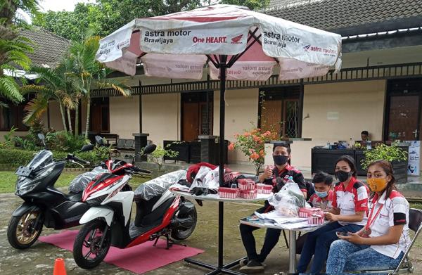 """Jemput Bola"" Astra Motor Brawijaya Pameran Di Event Rapat Anggota Tahunan  (Rat) Ksu Cabe Rawit"