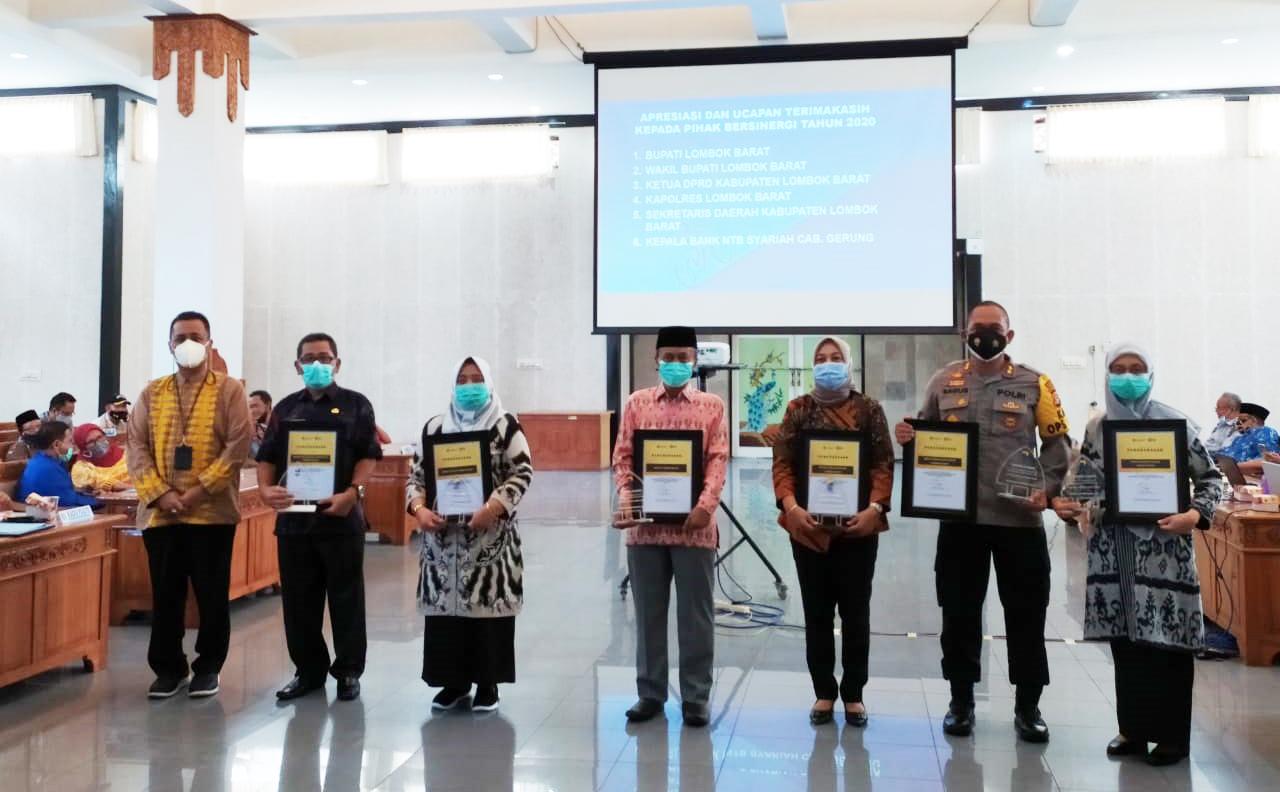 Bupati Lombok Barat Minta ASN menjadi Edukator Prokes