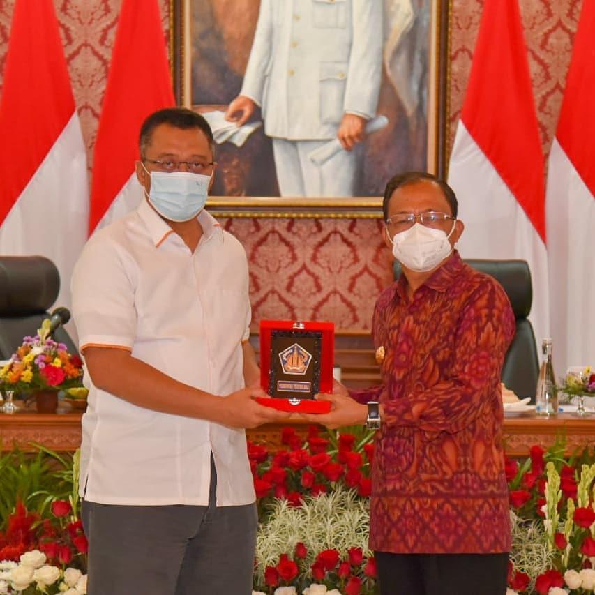 MoU Gubernur NTB dan Gubernur Bali Kerjasama Disegala Bidang