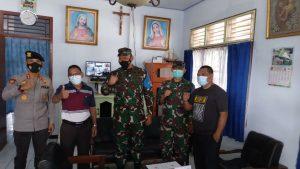 TNI POLRI di NTB Patroli Terpadu, Antisipasi Dampak Teror Bom di Gereja Katedral Makasar