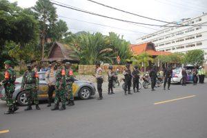 Ledakan Bom di Makassar, Jajaran Polres Lobar Tingkatkan Patroli Skala Besar