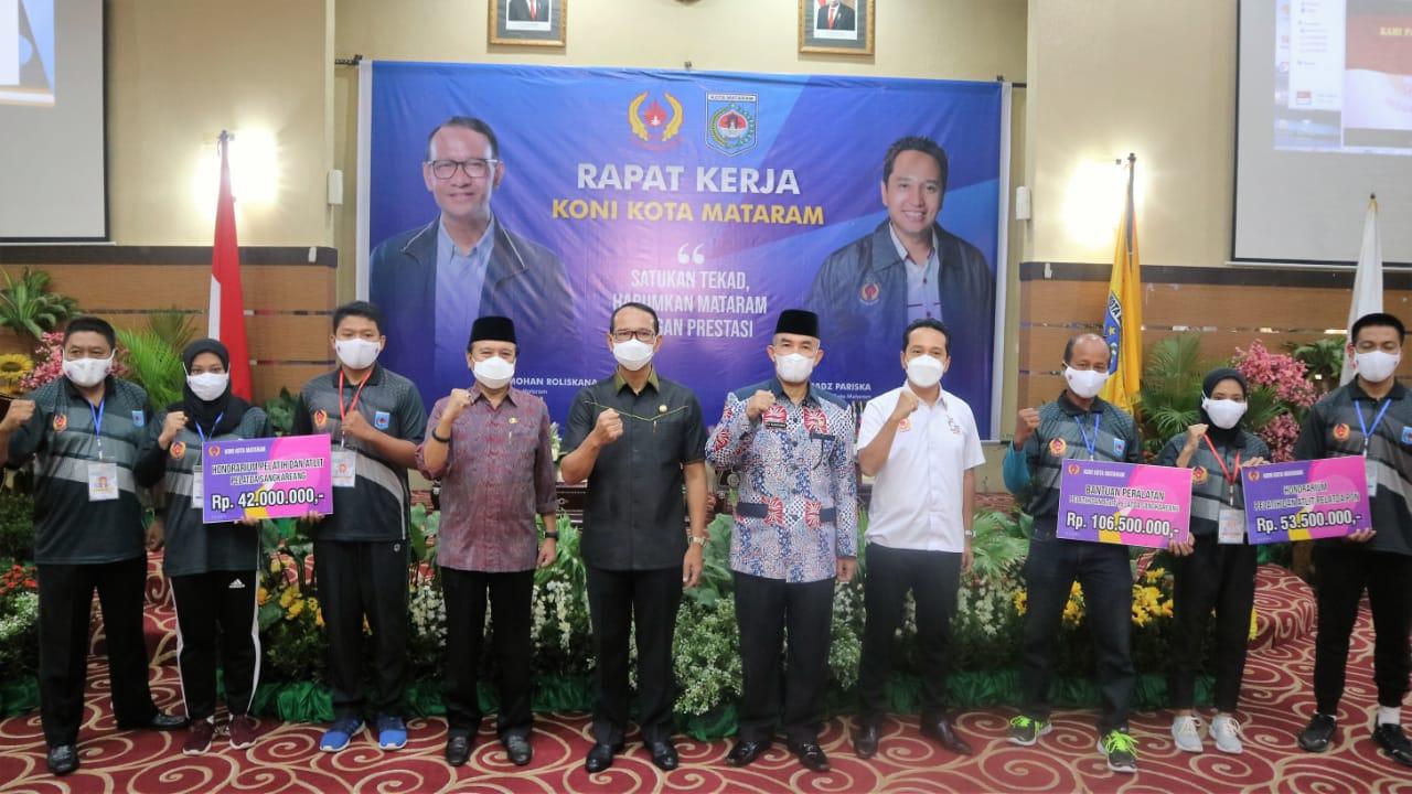 Wali Kota Buka Rapat Kerja Koni Mataram