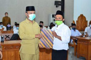 125 PPPK Lombok Barat Menerima SK