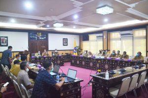 Rapat Koordinasi Penanganan Sampah di Kota Mataram