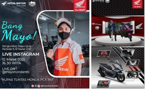 Kupas Tuntas Teknologi All New Honda PCX 160 Bersama Bang Mayo