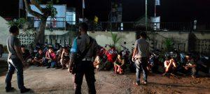 Polsek Sekotong Angkut Belasan Sepeda Motor, Ketahuan Lakukan Balap Liar