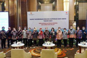 Rapat Koordinasi Bidang Koperasi dan UMKM Tahun 2021