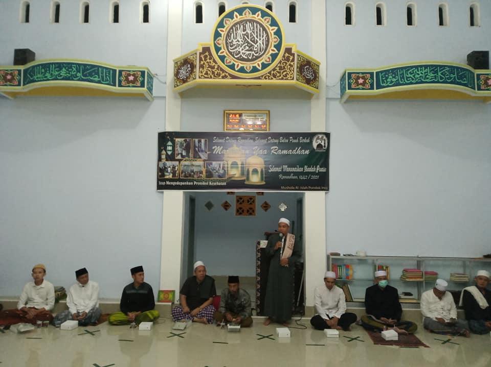 Peringatan Nuzulul Qur'an 1442 H. di Mushola Al Islah Pondok Indah Pagutan Barat Kota Mataram