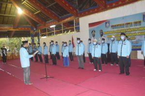 Asosiasi Kepala Desa Lombok Barat Periode 2021-2024 Dikukuhkan Bupati