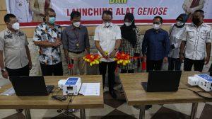 Wali Kota Mataram Launching Alat Genose dan Program Vaksinasi Masal