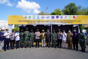 Polres Lombok Barat Borong Posyan dan Pospam Terbaik di NTB
