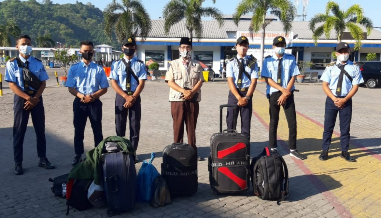 Angkatan Kedua KK NKPI SMKN 1 Sekotong Lobar,Prakrin Ke Pulau Bali.