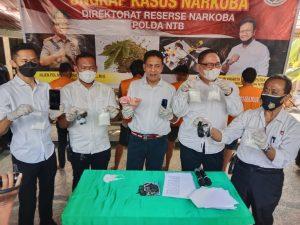 Selundupkan Sabu 520 Gram, Tim Ops Dit Resnarkoba Polda NTB Bekuk Pelaku Narkoba
