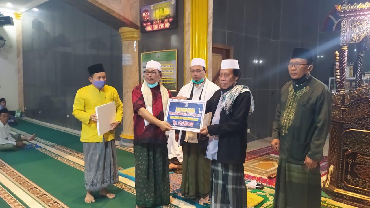 Sekda Baehaqi Safari Ramadhan di Masjid Jami' Baiturrahman Kediri