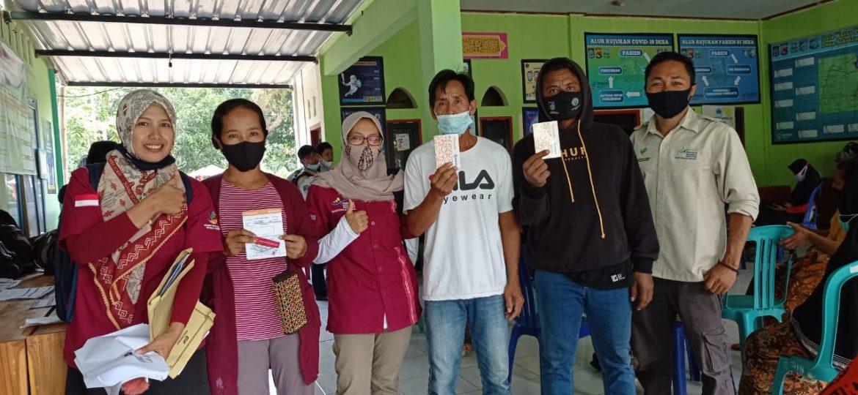 BRI Salurkan Butab Dan KKS Kepada 165 KPM PKH Di Sekotong Lobar.