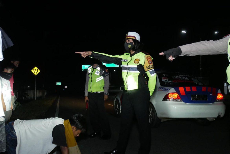 Jelang Idhul Fitri, Polres Lobar Gelar Patroli Gabungan