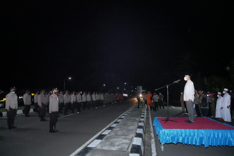 Pengamanan Malam Takbiran, Forkopimda Lakukan Apel Kesiapsiagaan dan Patroli Skala Besar