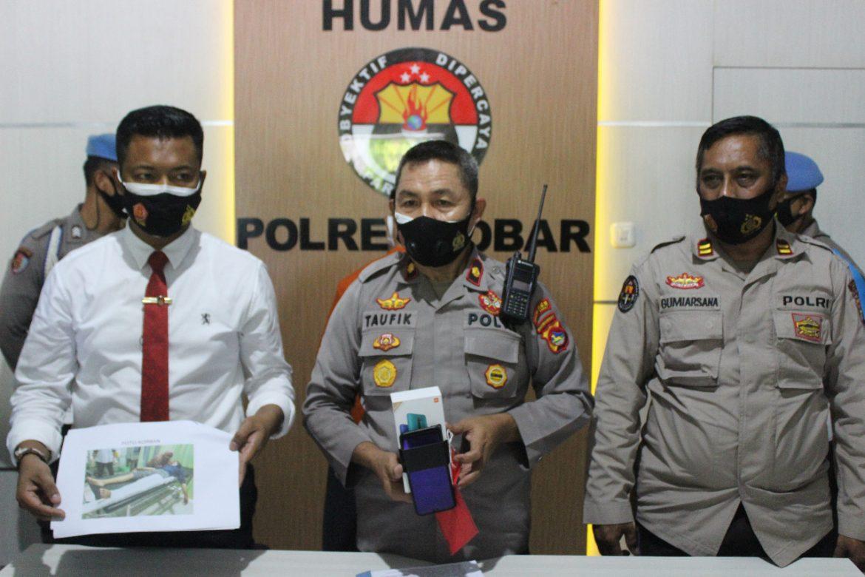 Polisi Tangkap Pelaku Jambret TKP Rumak Kediri Lobar, Pengakuan Tersangka Buat Nyabu dan Judi