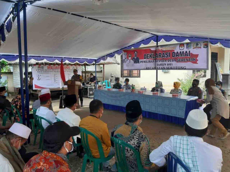 Pilkades Serentak 2021 di Kecamatan Sekotong, 11 Calon Kepala Desa Ambil Bagian