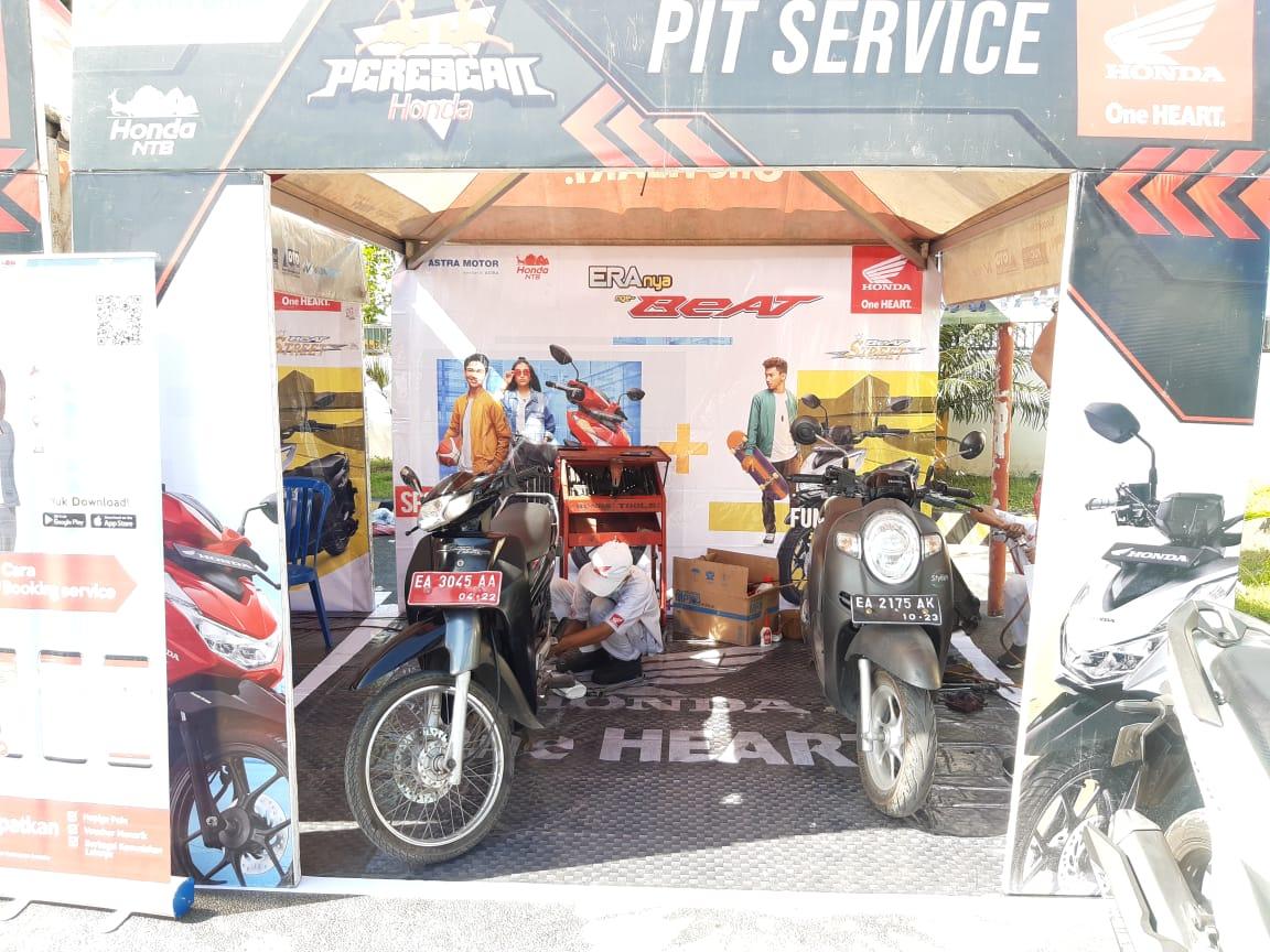 PRESEAN Honda Hadir di Pulau Sumbawa, Mudahkan Konsumen Beli dan Servis Motor