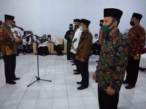 Pelantikan & Pengukuhan 8 Pejabat Fungsional Di Kantor Kemenag Sumbawa