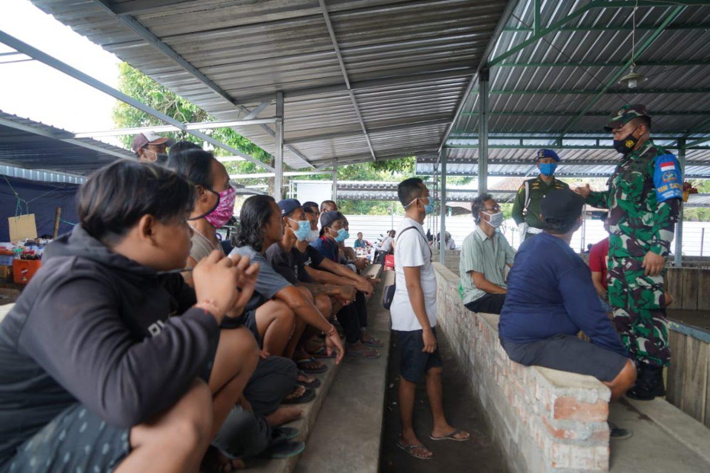 Satgas Covid-19 Korem 162/WB Bubarkan Judi Sabung Ayam di Sindu Cakranegara