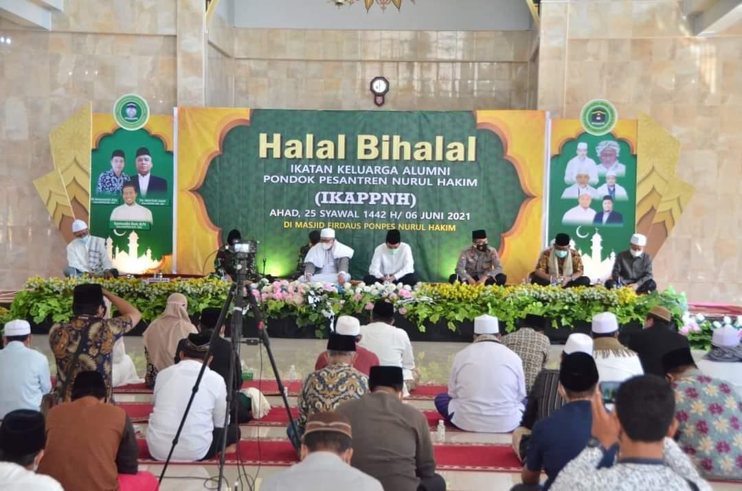 Halal Bi Halal Alumni Ponpes Nurul Hakim Kediri Dihadiri Gubernur dan Kapolda NTB