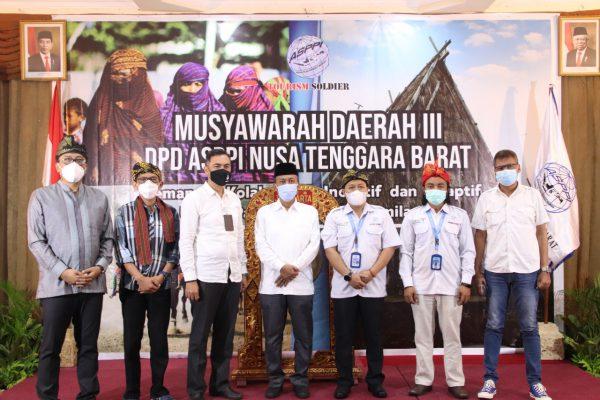 Musda III Asosiasi Pelaku Pariwisata Indonesia NTB Di Senggigi Dibuka Bupati H.Fauzan Khalid