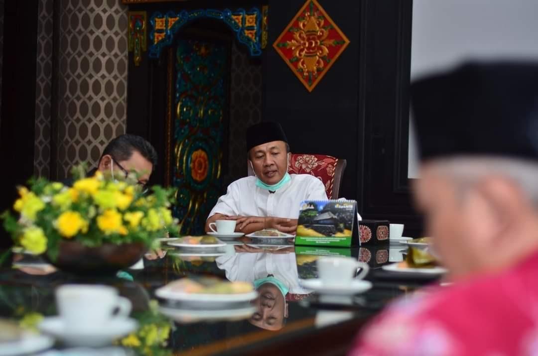 Pimpinan Unram Bertemu Bupati Bahas Rencana Pembangunan Kampus II di Gunung Sasak