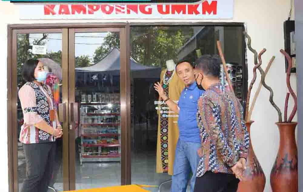 Diskop UKM NTB dan Post Indonesia Bersinergi Dalam Jasa Pengiriman Barang & Jasa Keuangan Untuk KUMKM