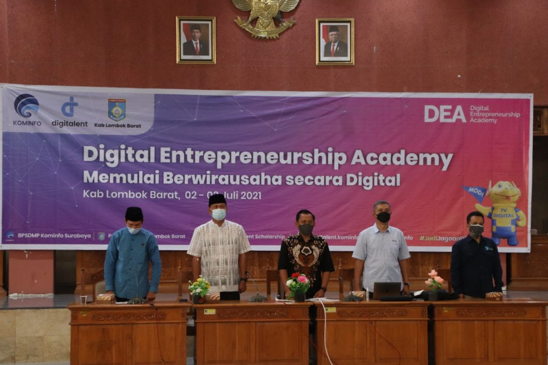Lombok Barat Latih Milenial Menjadi Pengusaha Di Era Digital
