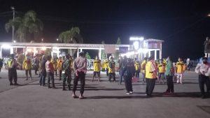 Polisi Lakukan Pengamanan Kepulangan 40 Pekerja Migran Indonesia di Pelabuhan Lembar